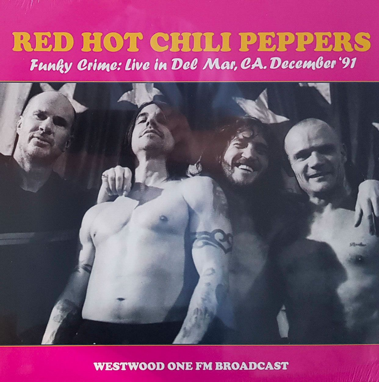Lp Vinil Red Hot Chili Peppers Funky Crime: Live In Der Mar