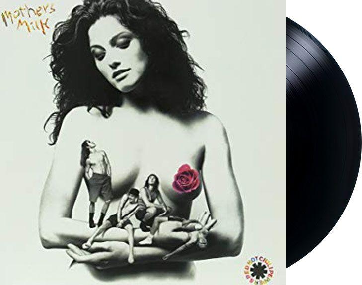 Lp Vinil Red Hot Chili Peppers Mother's Milk CAPA ESTRAGADA