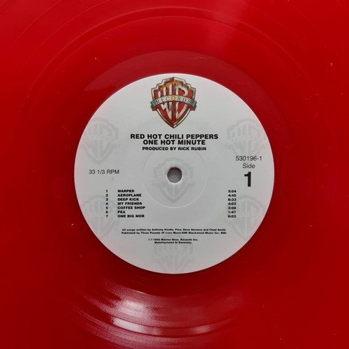 Lp Vinil Red Hot Chili Peppers One Hot Minute