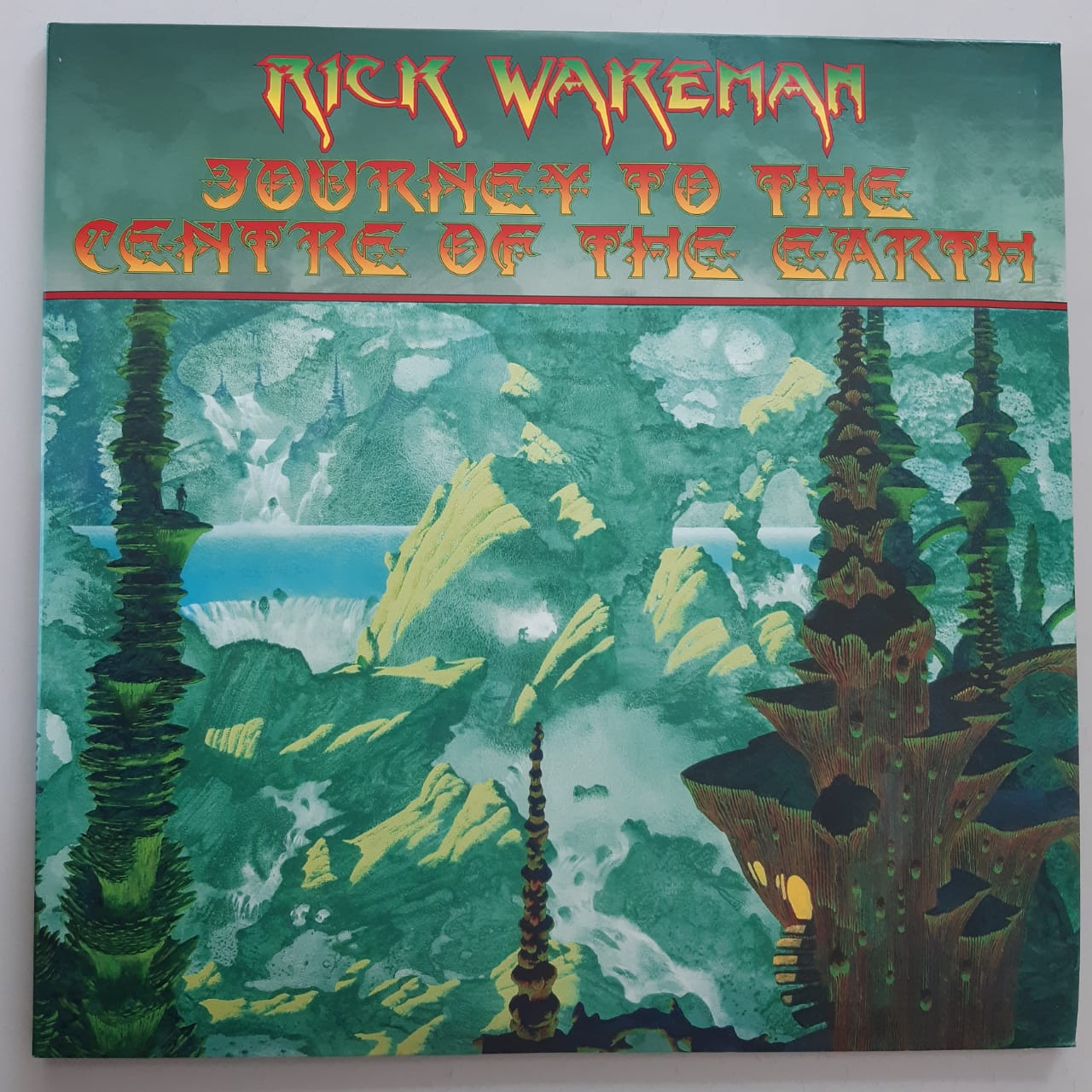 Lp Vinil Rick Wakeman Journey To The Centre Of The Earth