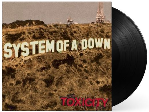 LP Vinil System of a Down Toxicity