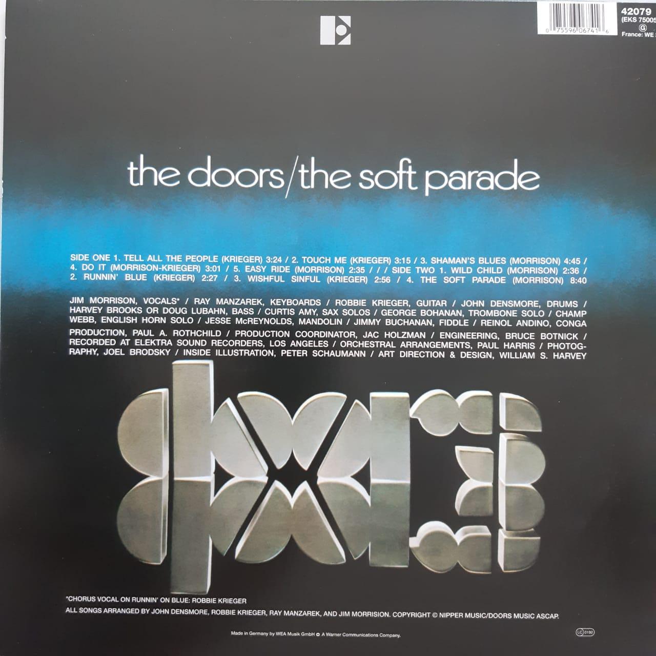 Lp Vinil The Doors Soft Parade