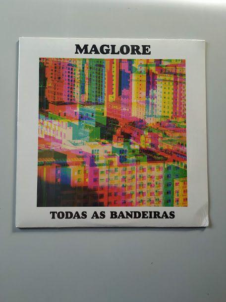Lp Vinil Maglore Todas As Bandeiras CAPA AMASSADA