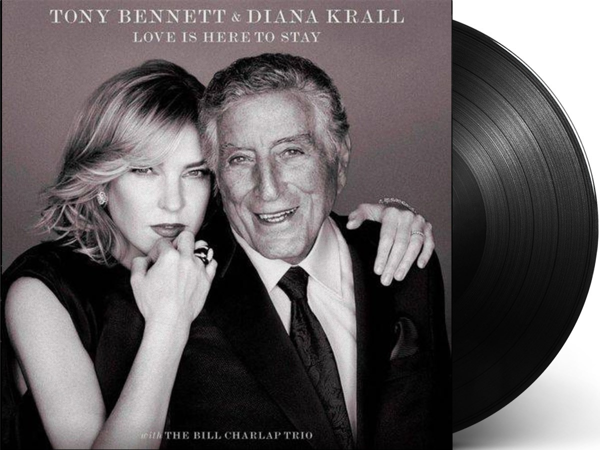 Lp Vinil Tony Bennett & Diana Krall With The Bill Charlap Trio Love Is Here To Stay