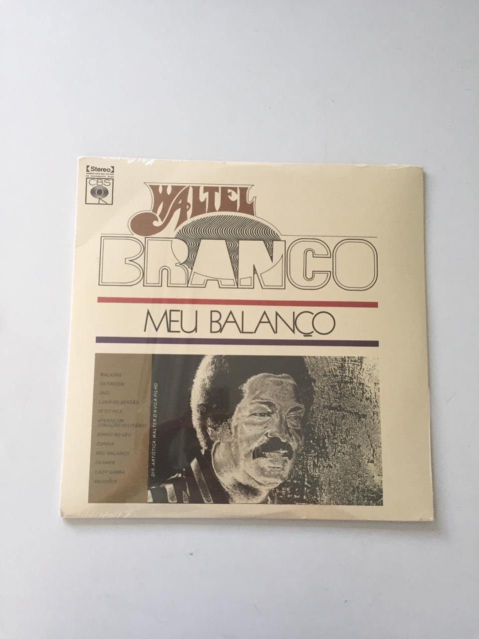 Lp Vinil Waltel Branco Meu Balanço CAPA AMASSADA