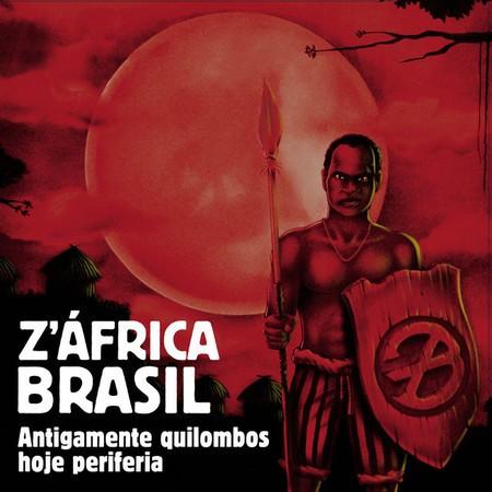 Lp Vinil Z'Africa Brasil Antigamente Quilombos, Hoje Periferia