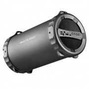 Caixa de Som Bazooka Multilaser Bluetooth/FM/SD/USB/P2 20W SP233