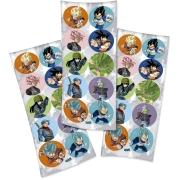Adesivo Redondo Festa Dragon Ball - 30 unidades - Festcolor