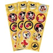 Adesivo Redondo Festa Mickey - 30 unidades - Regina