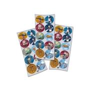 Adesivo Redondo Festa Naruto - 30 unidades - Festcolor