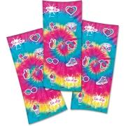 Adesivo Redondo Festa Tie Dye - 30 unidades - Festcolor