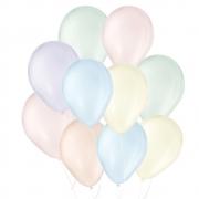 """Balão de Festa Látex Candy Colors - 9"""" 23cm - 25 Unidades"""