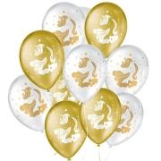 "Balão de Festa Decorado Unicórnio Teen - Sortido 9"" 23cm - 25 Unidades"