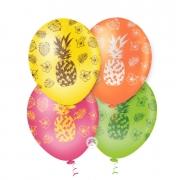 Balão de Festa Estampado Abacaxi Sortido - 10