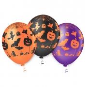 Balão de Festa Estampado Halloween Sortido - 10