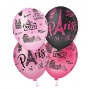 Balão de Festa Estampado Paris Sortido - 10