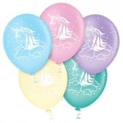 """Balão de Festa Estampado Unicórnio Sortido - 10"""" 25cm - Pic Pic"""