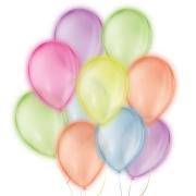 """Balão de Festa Neon  - Cores - 9"""" 23cm - 25 Unidades"""