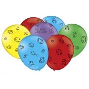"""Balão Especial Festa Among Us  - 9"""" 23cm - 25 unidades - Festcolor"""