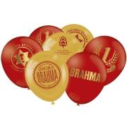 """Balão Especial Festa Brahma - 9"""" 23cm - 25 unidades - Festcolor"""