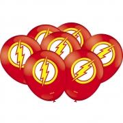 """Balão Especial Festa Flash - 9"""" 23cm - 25 unidades - Festcolor"""