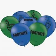 """Balão Especial Fortnite - 9"""" 23cm - 25 unidades - Festacolor"""