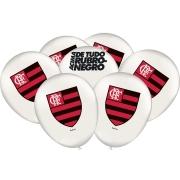 Balão Festa Flamengo - 25 unidades - Festcolor