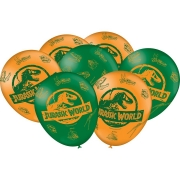Balão Festa Jurassic World - 25 unidades - Festcolor