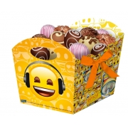 Cachepot Festa Emoji - 08 unidades - Festcolor