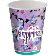 Copo de Papel 200ml Festa Vampirina - 8 unidades - Festcolor