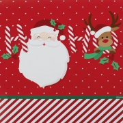 Guardanapo de Papel Papai Noel HoHoHo 32,5cm - 20 folhas - Cromus Natal