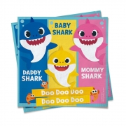 Guardanapo Festa Baby Shark - 20 Unidades - Cromus
