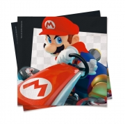Guardanapo Festa Mario Kart - 20 unidades  Cromus