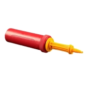 Inflador a Ar Manual Vermelho - 01 Unidade - Bônus Infladores
