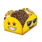 Porta Forminha para Doces Festa Emoji - 40 unidades - Festcolor
