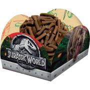 Porta Forminha para Doces Festa Jurassic World - 40 unidades - Festcolor