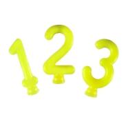 Vela Amarelo Neon - 01 Unidade - Festcolor