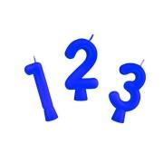 Vela Azul - Números - 01 unidade  Regina
