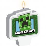 Vela Plana Adesivada Minecraft - 01 unidade - Regina