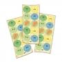 Adesivo Redondo Festa Dino Baby - 30 unidades - Festcolor