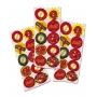 Adesivo Redondo Festa Flash - 30 unidades - Festcolor