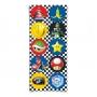 Adesivo Redondo - Festa Mario Kart - 30 unidades - Cromus