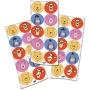 Adesivo Redondo Festa Pooh e Sua Turma - 30 unidades - Festcolor