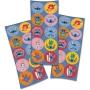 Adesivo Redondo Festa Stitch - 30 unidades - Festcolor