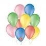 Balão de Festa Basic - Cores - 6,5