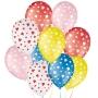 Balão de Festa Decorado Coração - Cores - 9