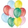 Balão de Festa Decorado Estrela - Sortido 9