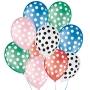 Balão de Festa Decorado Poá Bolinha - Cores - 9