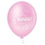 Balão de Festa Estampado É Menina - 10