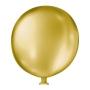 Balão de Festa Látex Super Gigante Cintilante - Cores - 35